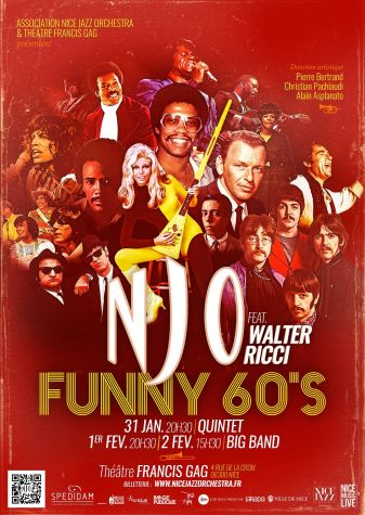 FUNNY 60'S - NICE JAZZ ORCHESTRA BIG BAND FEAT. WALTER RICCI